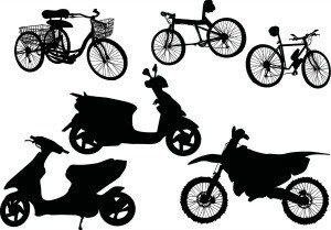 Cycles et scooters