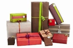 Cadeaux, Décoration