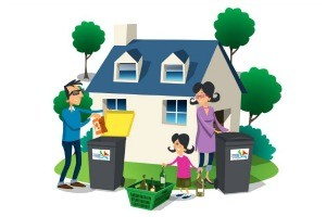 Household waste / recycling centers