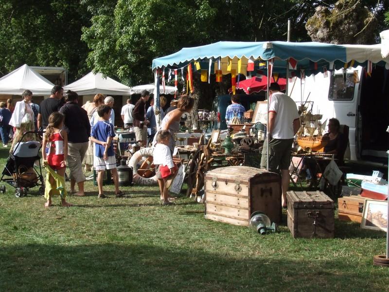 Flea market,theme market