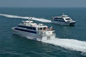 Islands, sea cruises