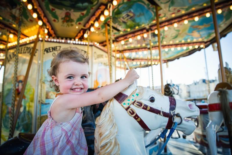 Spielplätze und Karusells