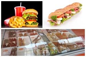 Imbiss und Fast Food