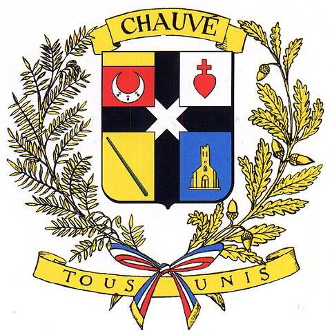 Blason et devise de Chauvé