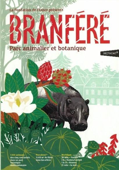 Branféré, Parcabout, Parc animalier, Parc botanique, Le Guerno