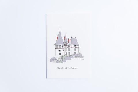carnet destination Pornic château, Emeline Boileau