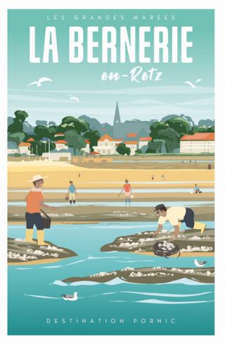 Carte postale La Bernerie