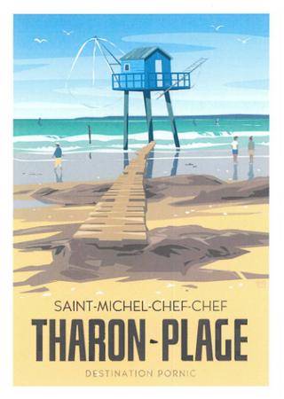 Carte postale Tharon Plage