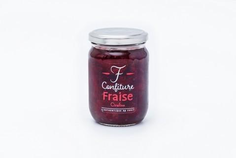 confiture de fraise de la fraiseraie