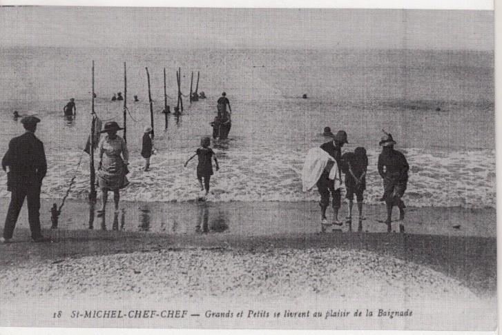Il été une fois Saint Michel-Chef-Chef, la plage