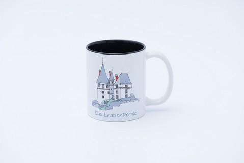 Mug château noir