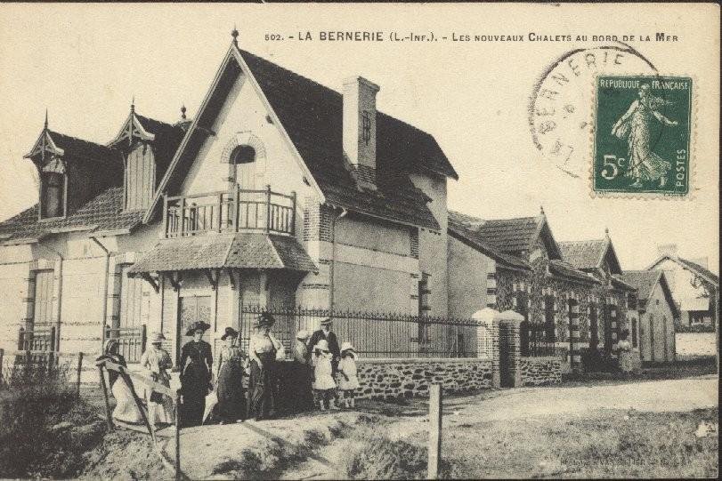histoire La Bernerie-en-Retz, La Bernerie-en-Retz, Ancienne photo La Bernerie-en-Retz