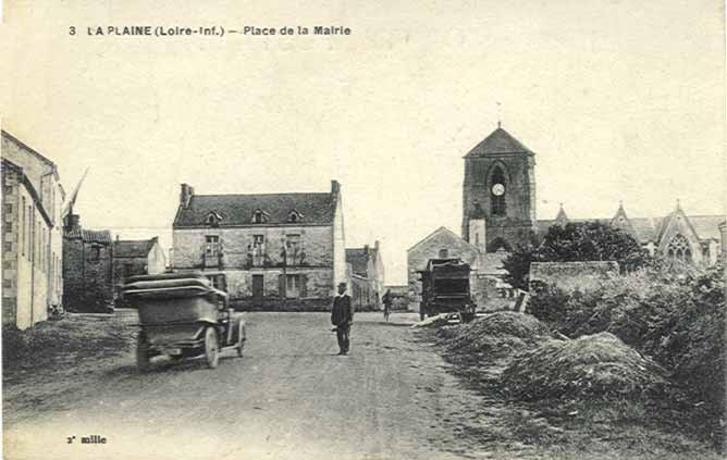 Il était une fois La Plaine sur Mer, Place du Fort Gentil