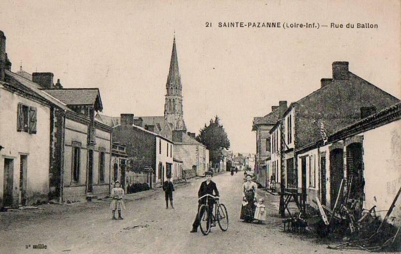 Rue Ballon Sainte Pazanne
