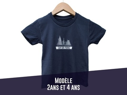 TEE SHIRT ENFANT NAVY