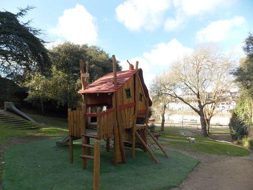 pornic jardin pique-nique plage arbre ombre aire de jeux enfants