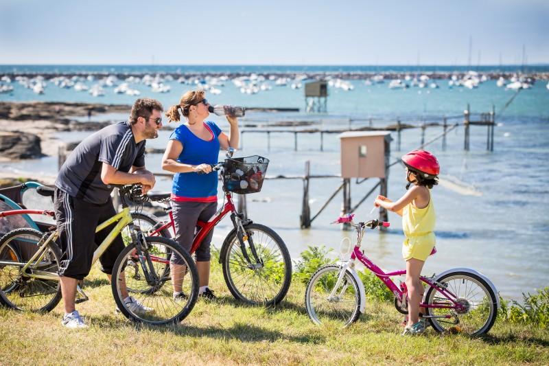 Balade à vélo à La Plaine sur Mer