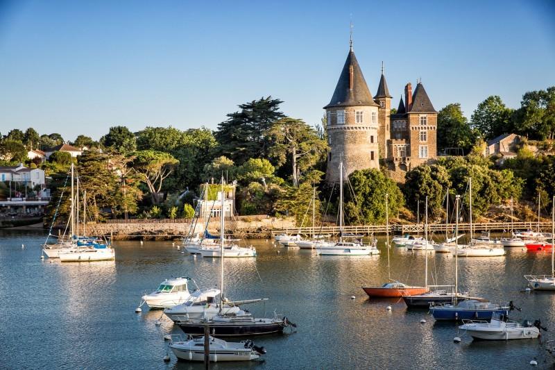 Port et château de Pornic