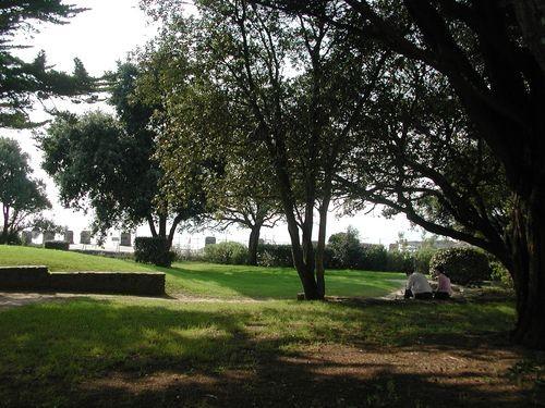 pornic jardin pique-nique plage arbre ombre