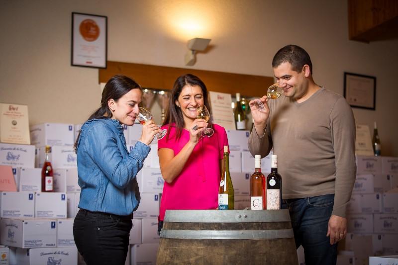 vigneron indépendant, vigneron sainte Pazanne, Domaine de la Coche, dégustation de vin, dégustation