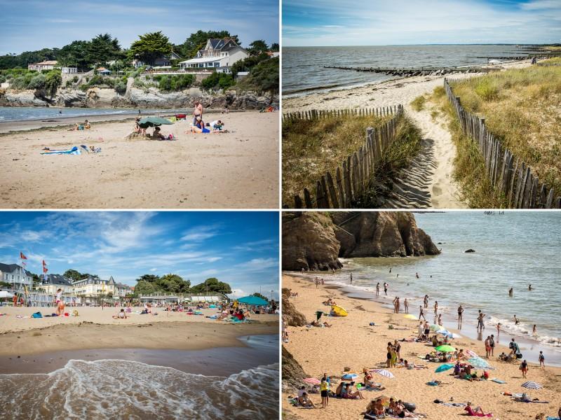 Pavillon bleu , qualité des plages, plage, plages de la Destination Pornic