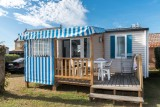 Mobilhome-2 chambres-4 personnes-St Michel