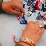 apillon-origami-soie-Marie-Dolorès Mergnac