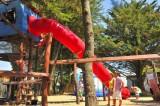 Aire-de-jeux au Camping La Madrague - Sainte marie sur Mer - Pornic, pornic camping, campings pornic, proche mer, plage,roulottes,piscine chauffée, toboggans, jeux, enfants