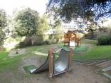 Aire de jeux Jardin de Gourmalon pornic cabane toboggan