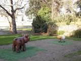 Aire de jeux Jardin de Gourmalon pornic mouton cochon