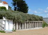 Cabines de Plage de Port-Meleu, location, cabine, prefailles, plage,