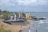 Cale de mise à l'eau, plage de la Joselière