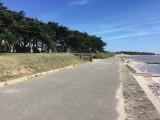 camping bord de mer, vue mer, chemin des douaniers, plage de la sennetière