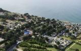 Camping La Madrague, pornic, proche mer, plage,roulottes,piscine chauffée, toboggans, jeux, enfants