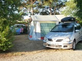 Emplacements au camping du Bernier