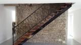 Escalier et rampe réalisés par l'entreprise AMFS