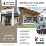 Fenêtres Côte de Jade partenaire Janneau, ouverture, fermeture, menuiserie, destination Pornic