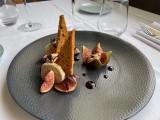 Foie gras à la figue et pain d'épices