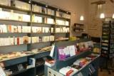 librairie, salon de thé,  livres