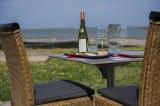 la plaine sur mer, restaurant, la tara, pierre de lave, coin enfant, face mer, wifi, terrasse