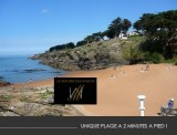 Le Rocher des Marais - Pornic - hotel - proche mer, chambre confort, salon, plage des sablons sainte marie sur mer