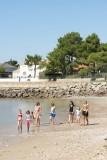 plage, plage surveillée, baignade, mer, les moutiers en retz