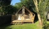 Locatif Lodge, Camping le Hameau du Lac à Bourgneuf en Retz