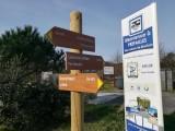 Aire camping-car prefailles, biochon, camping-car park,