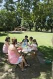 Pique-nique au Jardin des Lakas