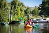 L'Acheneau en kayak