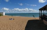 Port-Meleu et le restaurant de plage