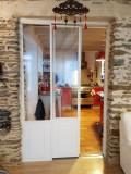 Porte et fenêtre coulissante réalisée par l'entreprise AMFS junguene