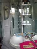Salle de bain privative à la chambre d'hôtes l'Anguille