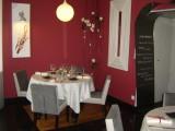 Salle de restaurant, Le Colvert Chez P'tit Père à Fresnay